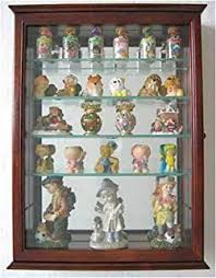 Oak Wall Mounted Display Cabinet Amazon Com Small Wall Mounted Curio Cabinet Shadow Box Glass