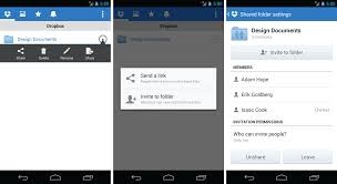 dropbox app for android dropbox adds easy folder on android android community