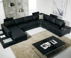 popular picture black leather living room furniture sets living