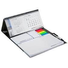 Promotional Desk Accessories Promotional Calendar And Sticky Note Set Deluxe A Quality Must