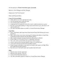 front desk agent job description office of student development osd front desk clerk job description