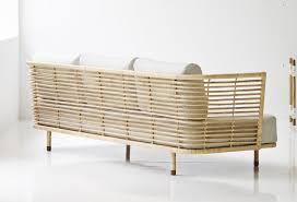 canape en rotin canapé design sense rotin 222cm par line design ikonik