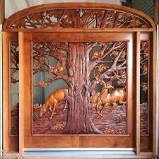 Carved Exterior Doors Wood Entry Doors Exterior Doors Monarch Custom Doors
