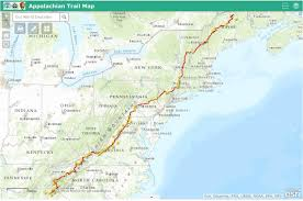 Appalachian Trail Map Pennsylvania by Appalachian National Scenic Trail National Parks Usa