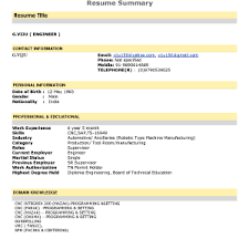 Resume Summary Statement Examples Entry Level by Good Resume Summary Statements Easy Samples Good Cover Letter