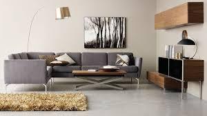 canapé contemporain design canapé d angle en tissu cuir design contemporain côté maison à