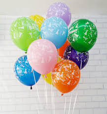 helium birthday balloons balloon lilac balloon bouquet birthday balloon birthday gifts