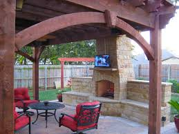 13 fireplaces u0026 diy outdoor shade structures western timber