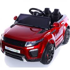 range rover evoque price range rover evoque style 12v child u0027s ride on car red outdoor toys