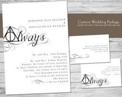 harry potter wedding invitations harry potter wedding invitations wedding invitation