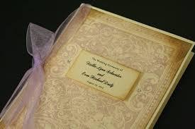 wedding program book items similar to vintage wedding program book ornate bookcover