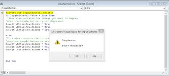 most common bugs in vba code excelprovegue