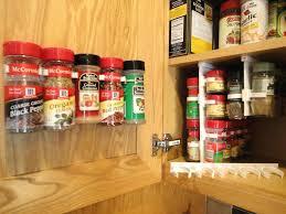 Cabinet Door Mounted Spice Rack Cabinet Door Spice Rack Lowes Tiathompson Me