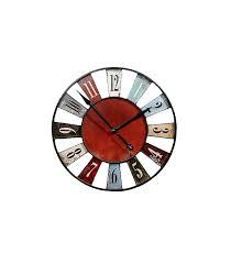 pendule originale pour cuisine horloge cuisine horloge murale originale multicolore bilbao