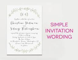 sle wedding invitation wording sle wedding invitation wording