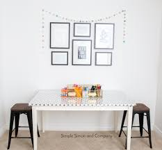Corner Sewing Table by Project Run And Play Elizabeth U0027s Sewing Spaces