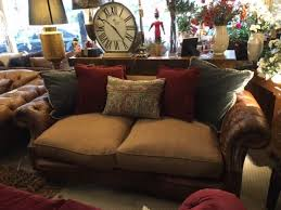 Chesterfield Sofa Showroom Tetrad Jefferson Midi Sofa In Galveston Bark Hide With Merlin