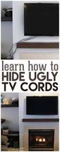 how to hide wires wall mount tv the 25 best hiding tv wires ideas on pinterest hide tv cords
