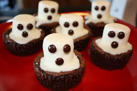 my treadmill is broken halloween ghost brownies
