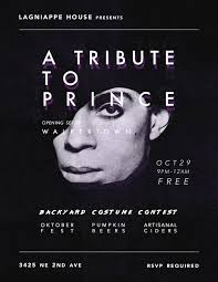 res halloween halloween prince tribute and backyard costume party at lagniappe