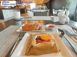 cuisine mode mode sathorn hotel manage by siam siam นอนชมว วสวยของกร งเทพมหานคร อ