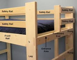 Safety Rail For Bunk Bed Building A Bunk Bed E Reiss