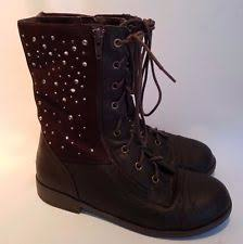 s fold combat boots size 11 brown combat boots ebay