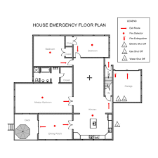 fire evacuation floor plan easy to use floor plan drawing software