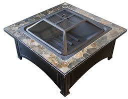wood fire pit table 2 amazon com az patio heaters fire pit with square table wood