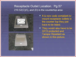 jake leahy u0027s electrical code connection countertop receptacle