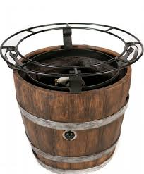 Wine Barrel Fire Pit Table by Wine Barrel Dining Table Top Transition