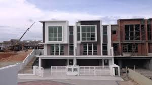 double storey house design in malaysia youtube