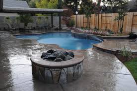 Firepit In Backyard Backyard With Pool And Firepit Ketoneultras