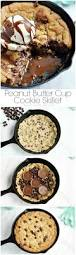 thanksgiving chocolate chip cookies peanut butter cup cookie skillet the pinning mama