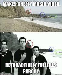 Music Video Meme - makes cheezy music video retroactively fullfills parody good guy