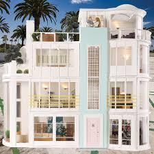 malibu beach house 480 best modern dollhouses popsugar moms