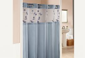 Hookless Shower Curtain Window Curtains Spectacular Of Bathroom Renovation With Hookless
