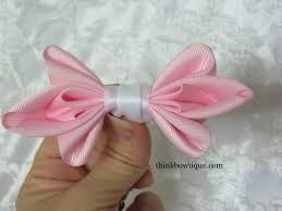 satin ribbon bows make a satin ribbon bow think bowtique