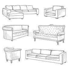 comment dessiner un canapé épinglé par wardaha sur architecture stuff dessin