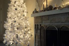 white tree with lights christmas ornaments and christmas lights guide christmas tree