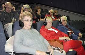 Department For The Blind Eyeshare Support Gathers To U0027hear U0027 A Movie Iowa Department For