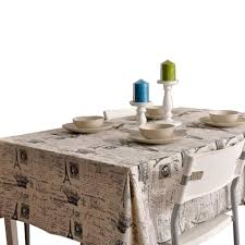 Coffee Table Cover Coffee Theme Tablecloth