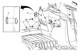 repair instructions quarter lower rear trim panel replacement
