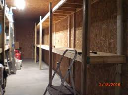 The Pole Barn Finishing The Massive Storage Shelves In The Pole Barn Youtube