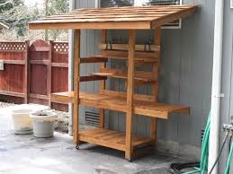 build a potting bench plans ideas u2013 outdoor decorations
