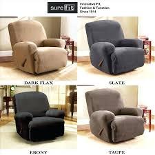 slipcover for loveseat recliner slipcovers for reclining