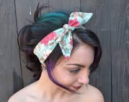 1950s headband rockabilly headband etsy