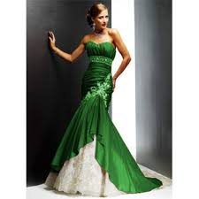 green dresses for weddings green and white wedding dresses wedding corners