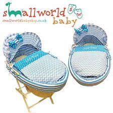 Moses Basket Coverlet Boys Moses Basket Covers Ebay