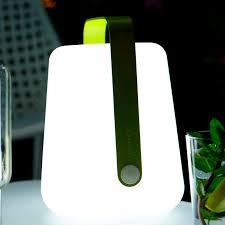 portable lamp contemporary aluminum polyethylene balad by